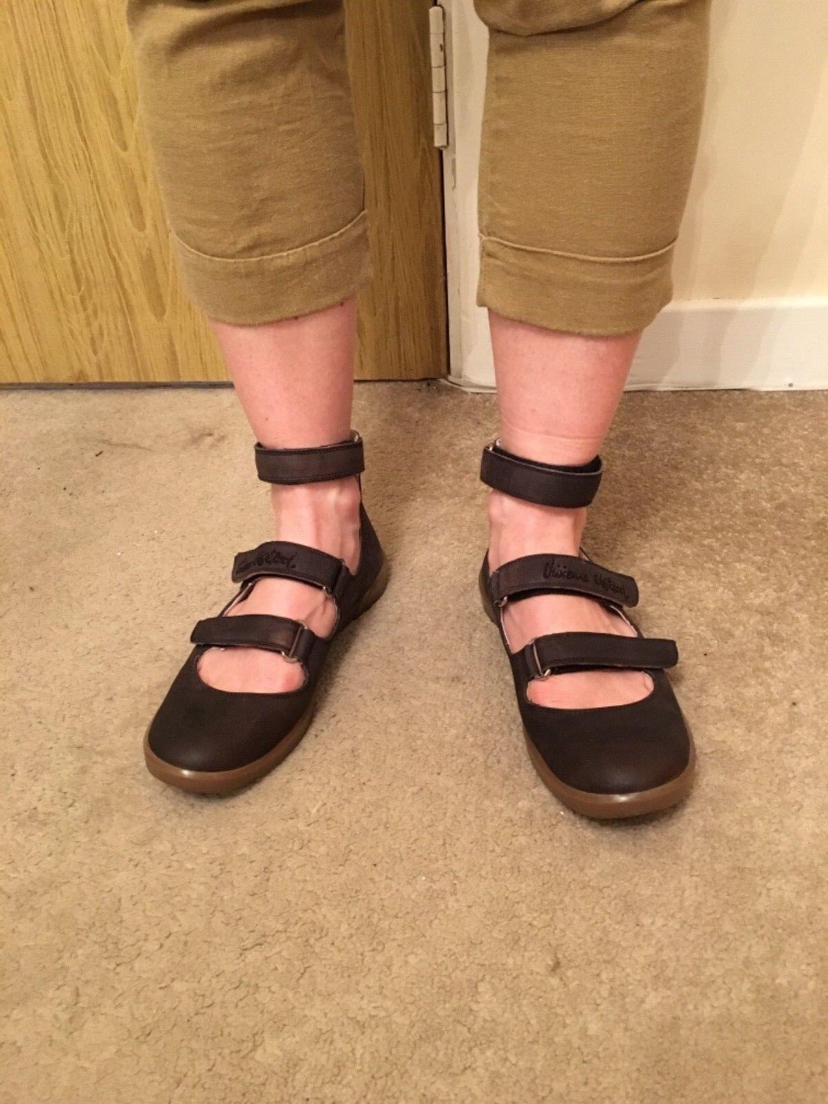 Marrón Vivienne Westwood Sandalia Zapatos-Talla Zapatos-Talla Zapatos-Talla 37 UK 4  hasta un 50% de descuento