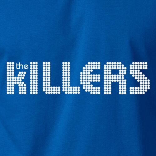 THE KILLERS Logo T-Shirt Rock Band Concert Tour Fan S 6XL Ringspun Cotton Tee
