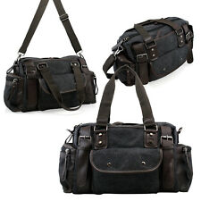 item 3 Vintage Large Canvas Men s Travel Luggage Shoulder Bag Tote Gym Overnight  Duffle -Vintage Large Canvas Men s Travel Luggage Shoulder Bag Tote Gym ... 88dba3450f8d6