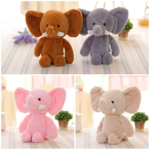Cute Elephant Soft Plush Toy Mini Stuffed Animal Baby Kids Gift Animals 20cm