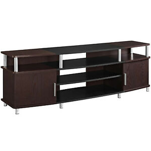 tv stand flat screen 70 media entertainment center unit furniture console modern ebay. Black Bedroom Furniture Sets. Home Design Ideas