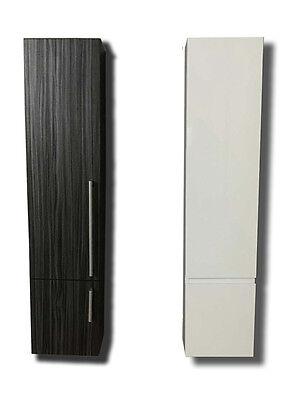 Mobile bagno colonna pensile bagno 130cm armadio bianco for Colonna mobile bagno