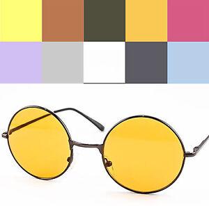 Round-Lens-Metal-Frame-Sunglasses-John-Lennon-Ozzy-60s-Harry-Potter-VTG-Retro