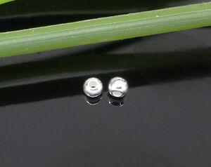 Neu-100-Versilbert-Perlen-Beads-2mm-D