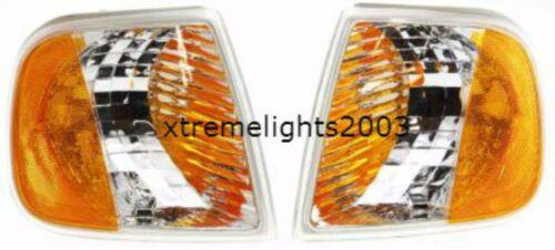 MONACO KNIGHT 2004 2005 2006 2007 CORNER TURN SIGNAL LAMPS LIGHTS PAIR SET RV