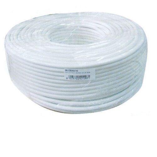 CAVO ELETTRICO MULTIPOLARE PVC BIANCO 2X0,50 BIPOLARE PREZZO PER 2 METRI