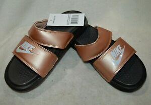 Nike Benassi DUO Metallic Red Bronze/Pl