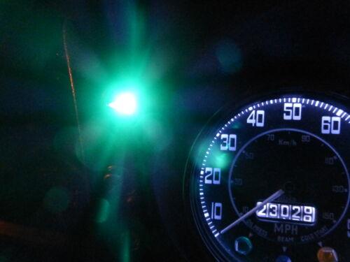 Land Rover Series 3 Warm White Dash Light Bulbs 8x LED BA7S E10 Fitting Set Kit