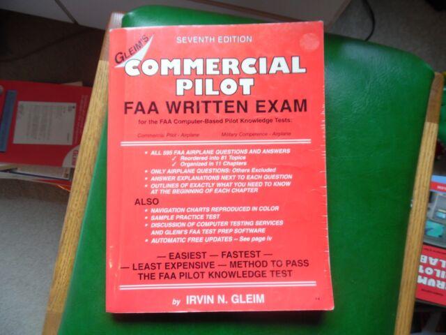 Commercial Pilot FAA Written Exam by Irvin N  Gleim (2000, Paperback)