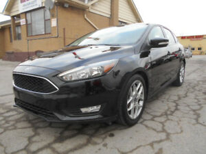2015 Ford Focus SE Hatchback 2.0L Automatic Loaded ONLY 45,000Km