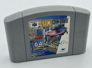 Sim City 2000 Cartridge Only NINTENDO 64 JAPANESE VERSION N64 ref030321