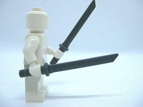 Dark Gray Brickforge Custom NINJATO Samurai Sword 2 pcs for LEGO Minifigures