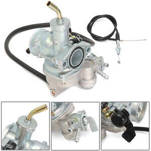 Carb-Carburetor-amp-Throttle-Cable-For-Honda-ATV-ATC-70-90-110-125-TRX125