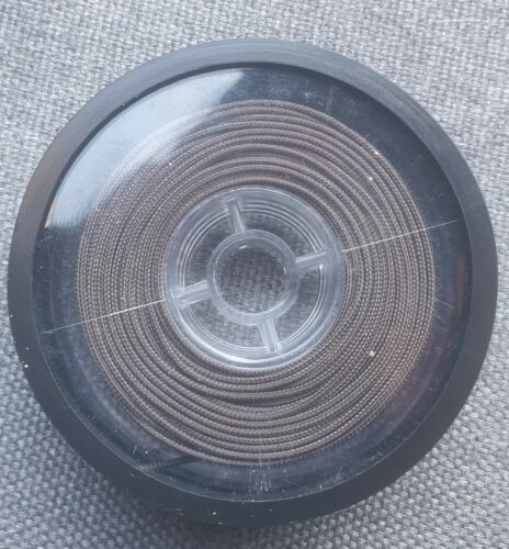 15 Metre Spool. 35lb Brown Leadcore