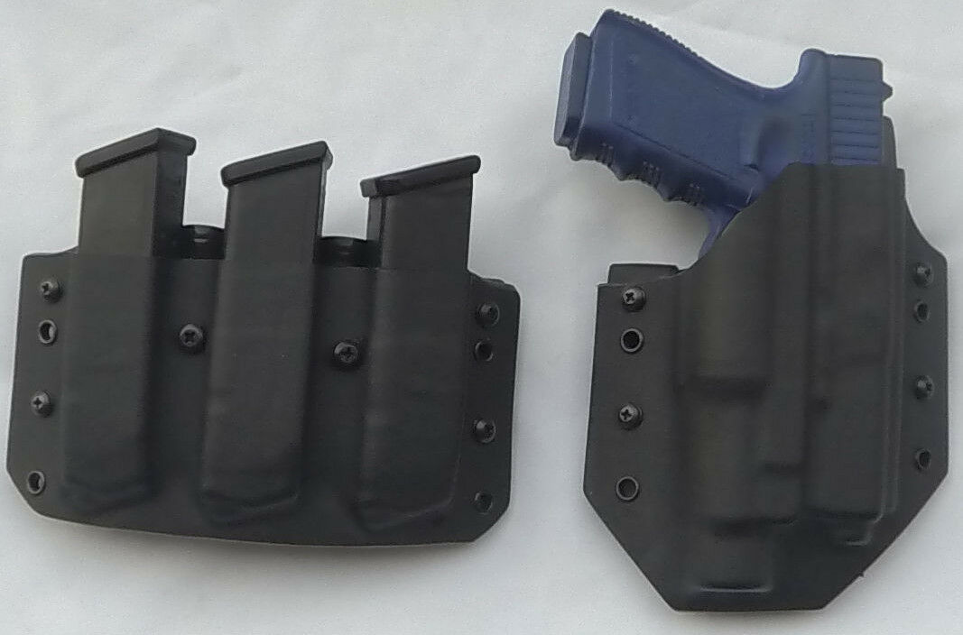 Se adapta a un Glock 21 Gen Funda 3 revista Pounch Combo