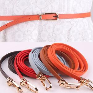 Female-Women-Candy-Color-Pu-Leather-Belt-Thin-Waistband-Dress-Strap-Waist-Belts