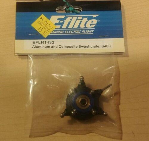 E-Flite Blade EFLH1433 Aluminum /& Composite Swashplate for B400 3D Heli NIP RC