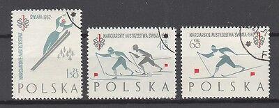 Kreativ Polen Nr Olympische Spiele 1294-96 Gest 1 Verkaufsrabatt 50-70%