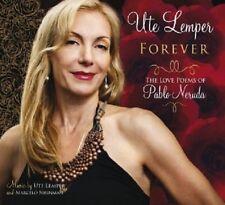 UTE LEMPER - FOREVER - THE LOVE POEMS OF PABLO NERUDA  CD NEU