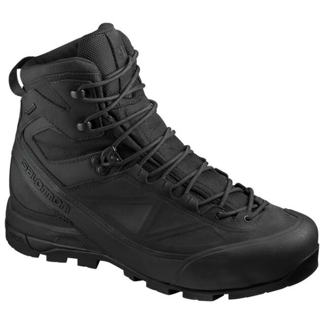 Salomon X Alp Mtn GTX® Forces Light Weight Mountain Boot Black