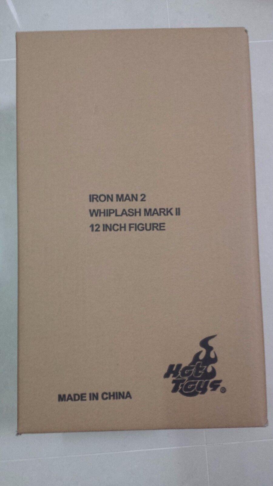 Hot Toys MMS 237 Iron Man 2 Whiplash Mickey Rourke Mark 2 Ii Figura De Acción Nueva