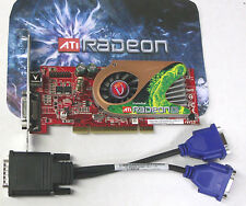 PCI Dual monitor Video Graphics Card  Radeon X1300 256MB full height Vision