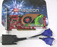 PCI Dual monitor Video Graphics Card  Radeon X1300 256MB full height Visiontek