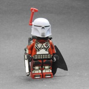 Custom Star Wars minifigures Pre Vizsla v2 mandalorian lego brand bricks