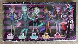 Dance-Class-Monster-High-5-Doll-Pack-Set-Gil-Webber-Lagoona-Operetta-Target