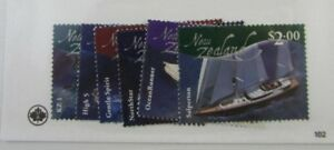 New-Zealand-SC-1819-24-BOATS-MNH-stamps