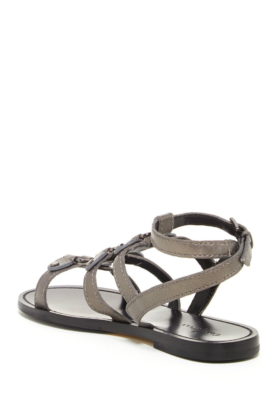 COLE HAAN DEANDRA GLADIATOR GUNSMOKE METALLIC SIZES Damenschuhe STRAPPY Schuhe MULTI SIZES METALLIC 66dc69