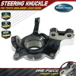 A-Premium Steering Spindle Knuckle Compatible with Honda Civic 2001-2002 L4 1.7L Front Left Driver Side