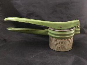Vintage Green Potato Ricer