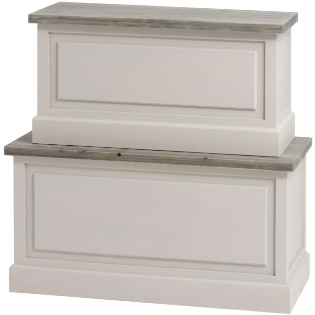 THE STUDLEY COLLECTION BLANKET BOXES - STORE SMALL ITEMS INSIDE