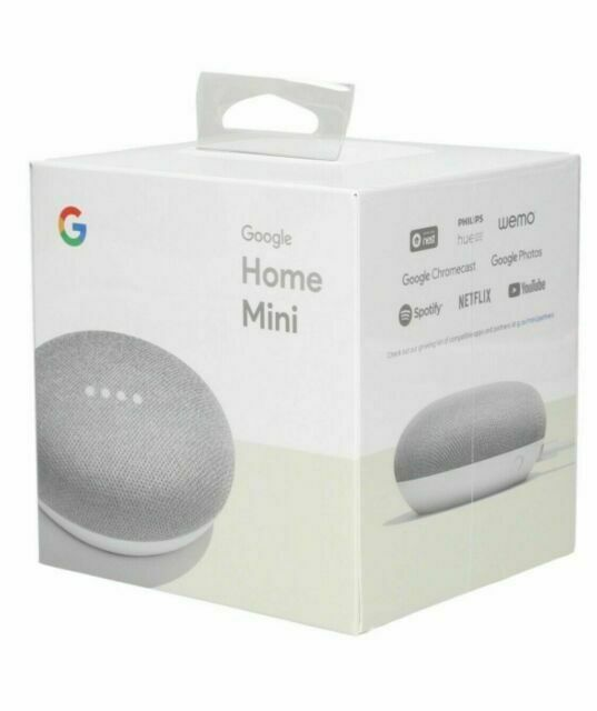Google Home Mini Smart Assistant Chalk For Sale Online Ebay