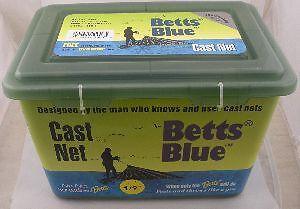 Betts 15B-7 7Ft. bluee Professional Series Cast Net 1 2  Mesh 12956