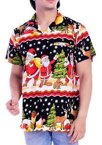 Christmas-Hawaiian-Shirts-for-Men-Santa-Claus-Beach-Vacation-Shirt