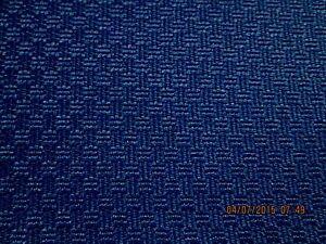 Milliken Upholstery Fabric A Royal Blue Woven Cotton Poly Blend Ebay