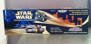 STAR WARS MICRO MACHINES BEGGAR'S CANYON CHALLENGE GALOOB 1999 MINT