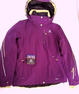 e5a32b285 SALOMON BRILLIANT WOMEN'S Ski Jacket, MEDIUM, Winter Sport, Alpine ...
