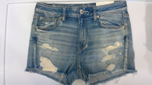 NWT AMERICAN EAGLE Misses Hi-Rise Shortie Shorts Sz 6-8-10-12-14 Assorted Styles