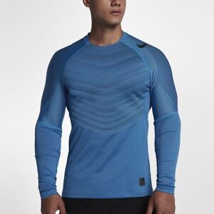 d3a245e9de1e3 NIKE PRO HYPERWARM AEROLOFT MEN S sz L LONG-SLEEVE TRAINING TOP ...