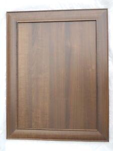 Details about 22 X 40 SABLE WALNUT MDF FLAT PANEL PORTRAIT FRAME DOOR  KITCHEN CABINET CUPBOARD