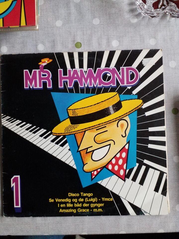 LP, MR HAMMOND, Andet