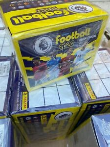 Football 2020 Panini Premier League Stickers 12 sealed boxes full case