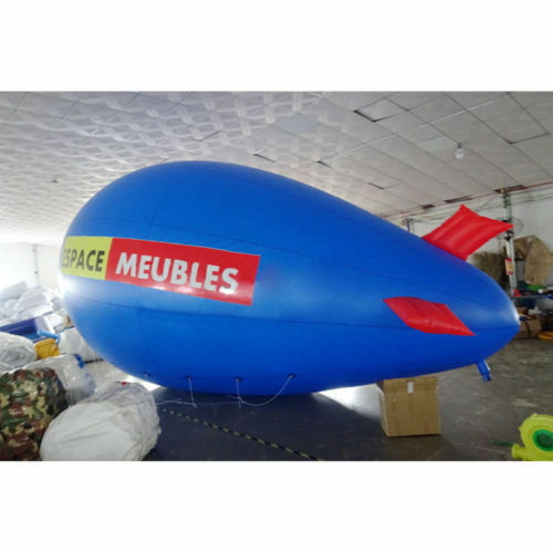 6M 20ft  7M 22ft Giant Inflatable Adverdeising Blimp  Flying Helium Balloon a