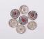 10X-Bohemian-3D-Flower-Turquoise-Conchos-For-Leather-Craft-Keychian-Wallet-Decor miniatuur 27
