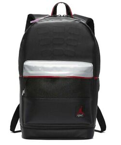 9A0280-KG5-AIR-JORDAN-RETRO-4-IV-LAPTOP-BACKPACK-BLACK-CEMENT-NEW