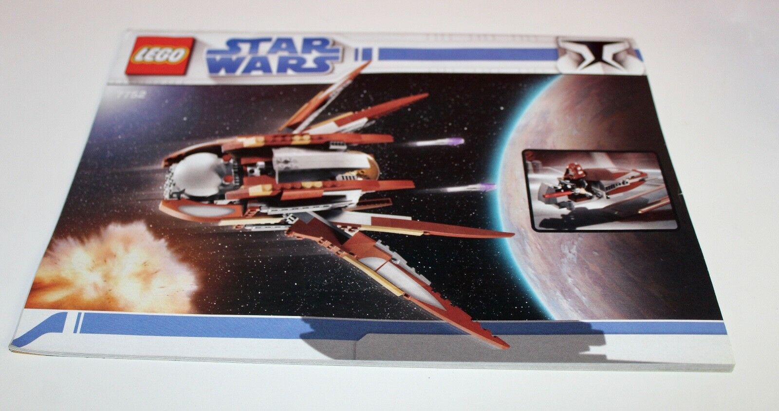 LEGO Star Wars 7752 Count Dooku Solar Sailor mit BA ohne Figuren