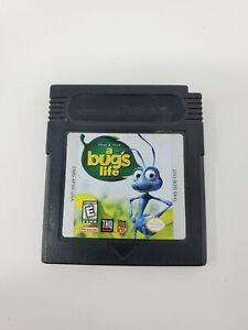 A Bug's Life (Nintendo Game Boy Color, 1998) GBC Authentic Tested